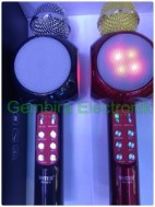 mic bluetooth karaoke smule wster 1816 microphone speaker wireless