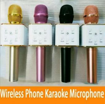 mic bluetooth karaoke q7 microphone speaker wireless smule