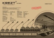 Mic Confrence KREZT MC-8UN Wireless microphone meja 8 mic