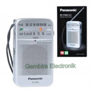 Radio saku Panasonic RF-P50 AM FM Radio Pocket Radio mini rfp 50