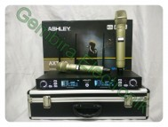 Mic Wireless Ashley AXT200 ORIGINAL microphone wirelles ashly axt 200 ashlei ori