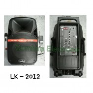 Speaker portable 12 inch soundbest lk2012 meeting wireless bluetooth sound best lk 2012