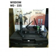 Mic wireless wisdom WD335 microphone wirelles WD 335 clipon headset ORIGINAL
