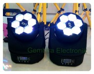 Moving LED Bee Eye Set Double moving head