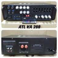 ampli bluetooth karaoke atl ka288 amplfier ka 288 equaliser equalizer