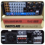 Power Ampli Bluetooth Firstclass Fca 12 Amplifier Mixer Karaoke Firsclass Fc A12 BBE Proceccor First Class Fc A 12