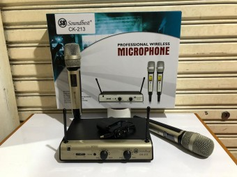 MIC WIRELESS SOUNDBEST CK 213 microphone soundbest ck213