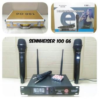 Mic Wireless Sennheiser 100 G6 Black Microphone Wirelles Senheiser 100 G 6