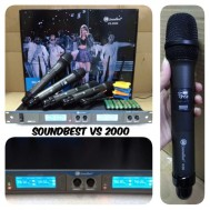 MIC WIRELESS SOUNDBEST VS 2000 microphone sound best vs2000