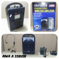 Portabel Speaker Meeting Wireless Aiwa A338 Usb portable amplifier