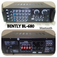 Power Ampli Bluetooth Bently Bl 680 Amplifier Karaoke Bentley Bl680