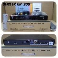 DVD Karaoke Geisler Ok2000 Player Kerauke Gesler Ok 2000 Karauke