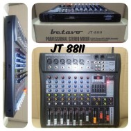Mixer Audio 8 Channel Betavo JT 88II Digial MIXING 8 Chenel Jt88