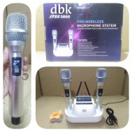 MIC WIRELESS HANDLE DBK JTSS3800 PRO MICROPHONE