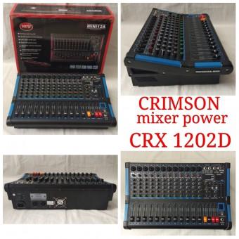 Power Mixer Audio 12 Channel Crimson Crx 1202d Mikser Crx1202d
