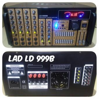 Power Ampli Bluetooth Lad Ld999b Amplifier Karaoke Equalizer Ld 999b