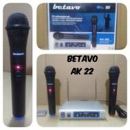 Mic Wireless Betavo Ak22 Microphone Wirelles Betavo Ak 22 Handel