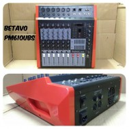Power Mixer Karaoke Betavo Pm 610 Original Amplifier Pm610