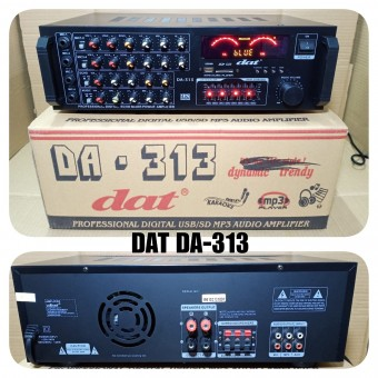 Power Ampli Bluetooth DAT DA 313 Amplifier Karaoke Da313