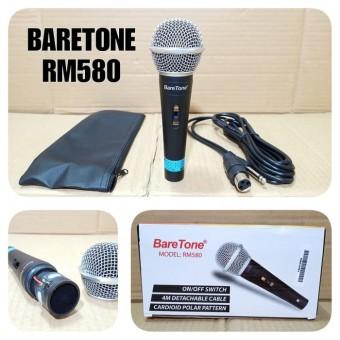Mic Kabel Baretone Rm580 Microphone Cable Bareton Rm 580