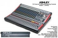 Mixer Ashley L16 Pro Professional Mixer
