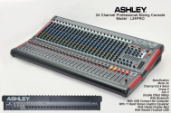 Mixer Ashley L24PRO Professional Mixer