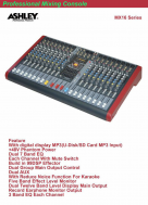 Mixer Ashley MX16