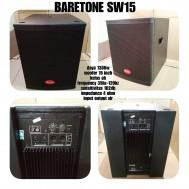 Speaker Subwoofer Baretone SW 15