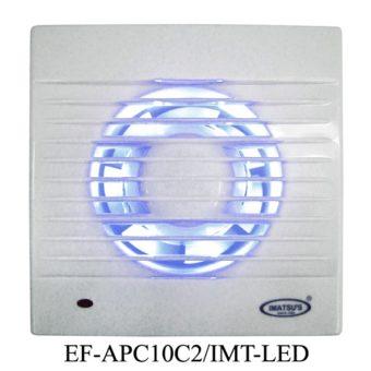 Exhaust IMATSU Fan With Ball Bearing LED APC10C2