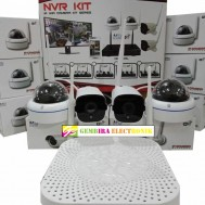 PAKET CCTV NVR KIT 4 CAMERA FULL WIRELESS 960P