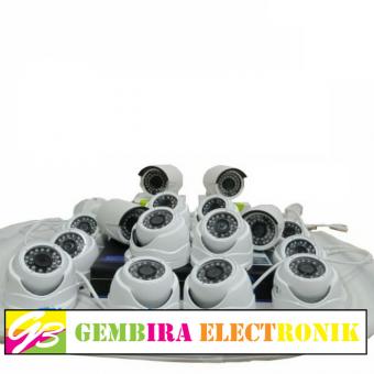 PAKET CCTV 16 CAMERA 1080P FULL HD ( 16 INDOOR)