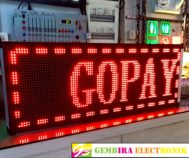 LED Display 101 x 37 Merah