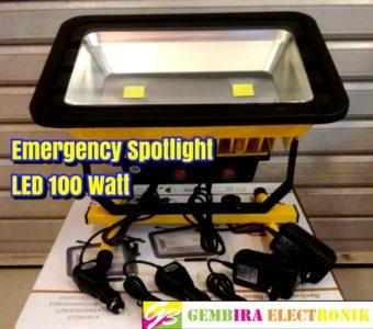 Emergency Spotlight LED 100 Watt
