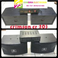 SPEAKER 6 IN DAN AMPLIFIER CRIMSON CR 203