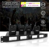 Mic Wireless Hardwell CLX 9004 U 4 Channel 4 Clip Headset