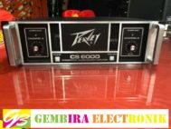 POWER AMPLIFIER PEAVEY CS 6000 CS6000