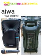 Speaker Portable Amplifier Aiwa WAS 110 LVD Bluetooth 110LVD