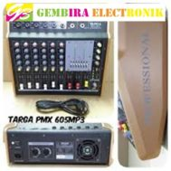 Power Mixer 6 Channel TARGA PMX 605 USB