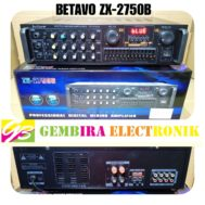 AMPLI BETAVO ZX 2750B AMPLIFIER BETAVO ZX2750B ZX 2750 B BLUETOOTH