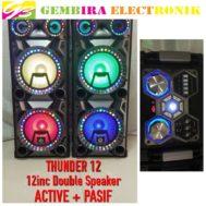 Double Speaker Thunder 12 Inch