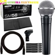MIC SHURE SM58 CABLE