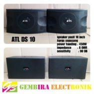 Speaker Pasif ATL 10 Inch