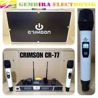 Mic Wireless CRIMSON CR 77 ORIGINAL
