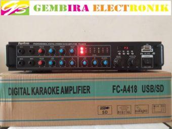 Ampli Karaoke FIRSTCLASS Fc- A418