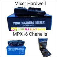 Mixer Hardwell MPX 6 channel
