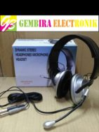 Original headphone microphone headset minasowa led 500