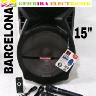 Speaker Portable Meeting Wireless Asatron Barcelona 15inch