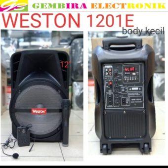 Speaker portable meeting wireless Weston 12 inchi bluetooth ORIGINAL