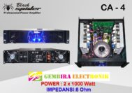 Power Ampli Blackspider CA-4