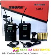 Mic Wireless Shure Cam 1 Aux Audio
